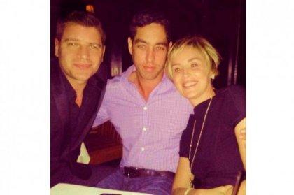 Nick Loeb se ha dejado ver muy acaramelado con Sharon Stone durante una cita en Nueva York.