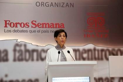 Señora Antonieta Mendoza de López, madre del preso político venezolano, Leopoldo López.
