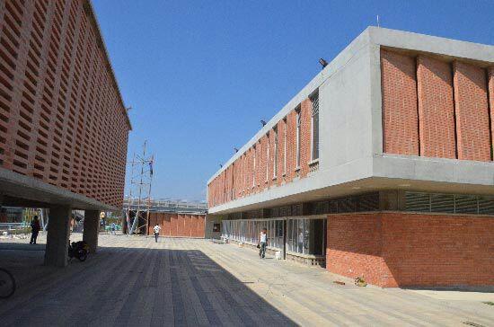 Mega colegio Nelson Mandela.