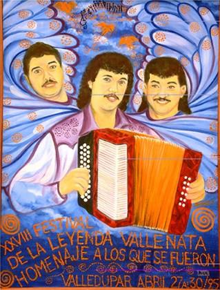 Afiche-Festival-Vallenato-1995